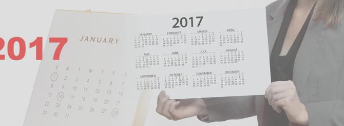 Calendario 2017 para la LOPD – Enero