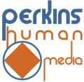 Logotipo Perkins Human Media